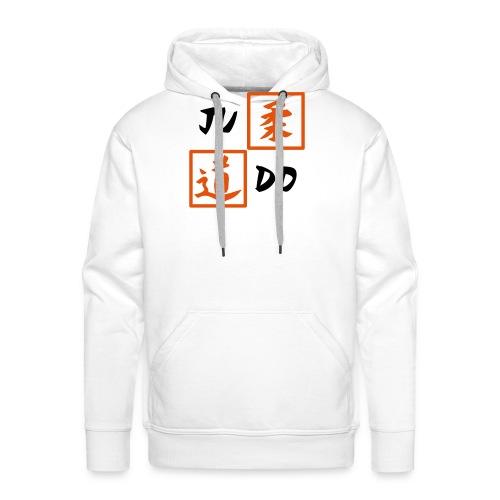 judo 2farbig - Männer Premium Hoodie