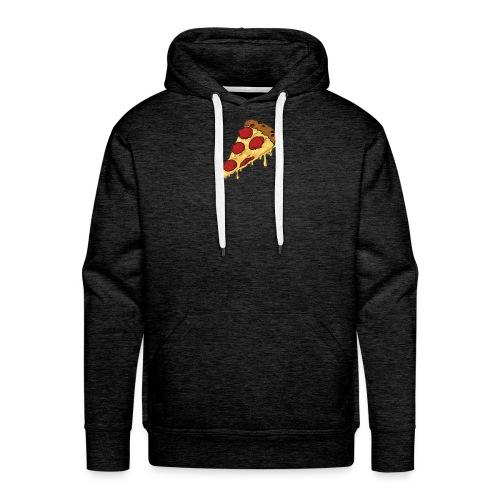 pizza design - Mannen Premium hoodie