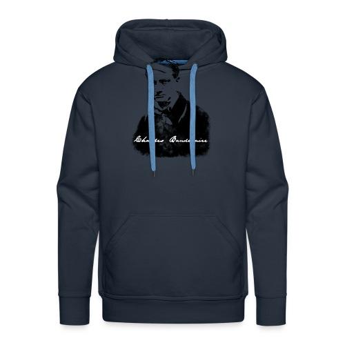 Charles Baudelaire - Sweat-shirt à capuche Premium pour hommes