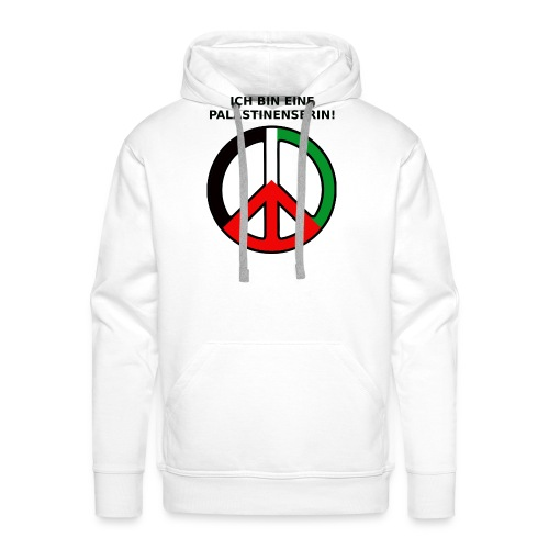 Ich bin eine Palästinenserin - Männer Premium Hoodie
