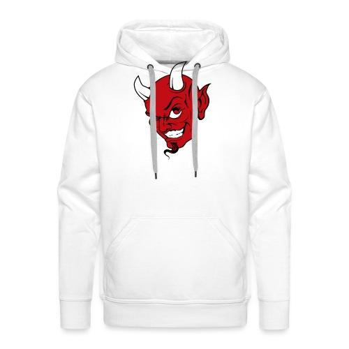 devils_kopf_für_Cap3 - Männer Premium Hoodie