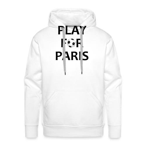 Football Shirt Play for Paris retro - Men's Premium Hoodie