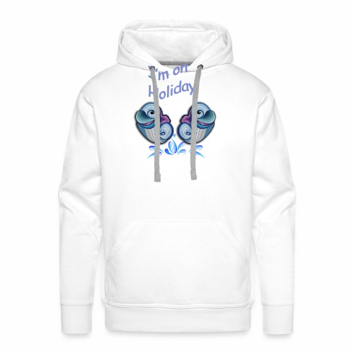 I'm on holliday - Men's Premium Hoodie