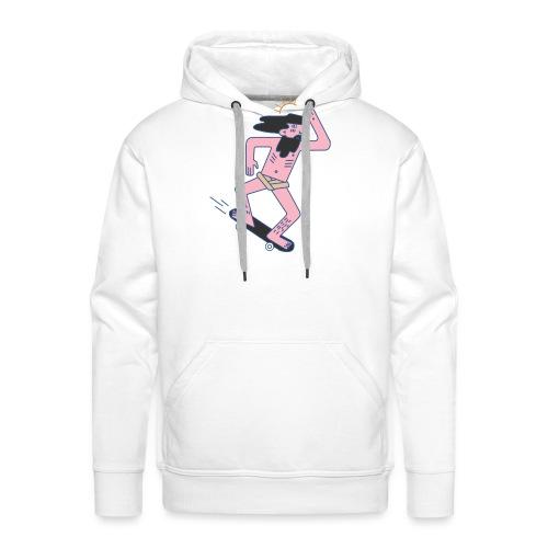 cool jezuz - Sweat-shirt à capuche Premium pour hommes