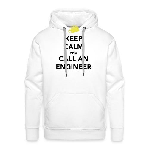 Keep Calm Engineer - Men's Premium Hoodie