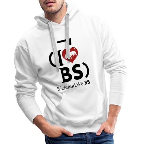 I don't love BS - Men's Premium Hoodie