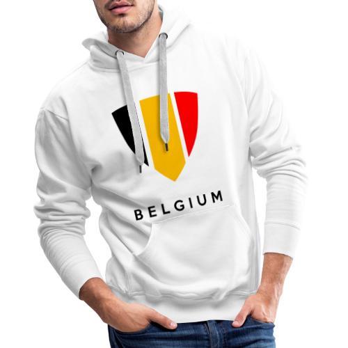 Bouclier de Belgique 2021 - Sweat-shirt à capuche Premium pour hommes