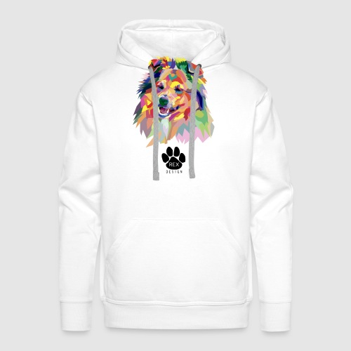 Happy Little Sheltie - Men's Premium Hoodie