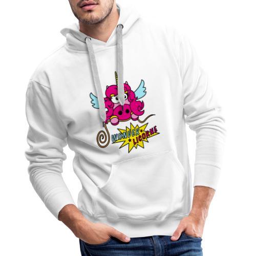Licorne WT - Sweat-shirt à capuche Premium pour hommes