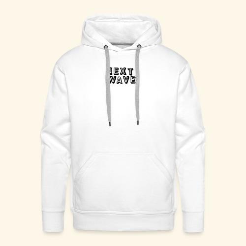 Small 'Next Wave' - Men's Premium Hoodie