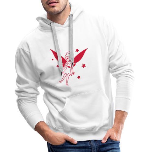 Motif Fée - Sweat-shirt à capuche Premium pour hommes