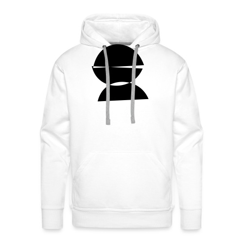refugee rights abstract - Männer Premium Hoodie
