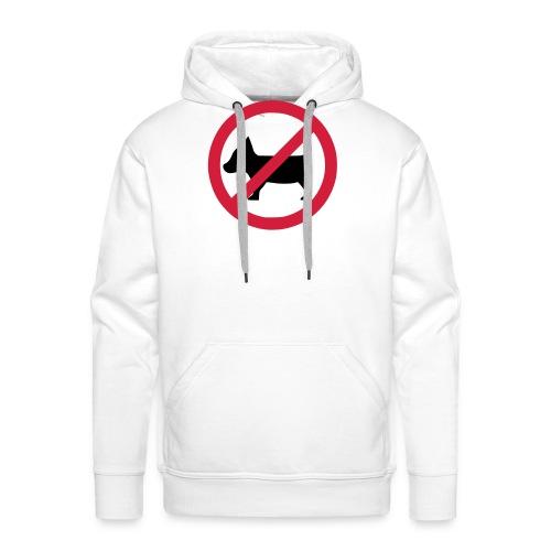 No dogs! - Anti-Hunde-Shirt - Männer Premium Hoodie