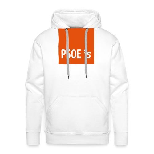 PSOEs - Sudadera con capucha premium para hombre