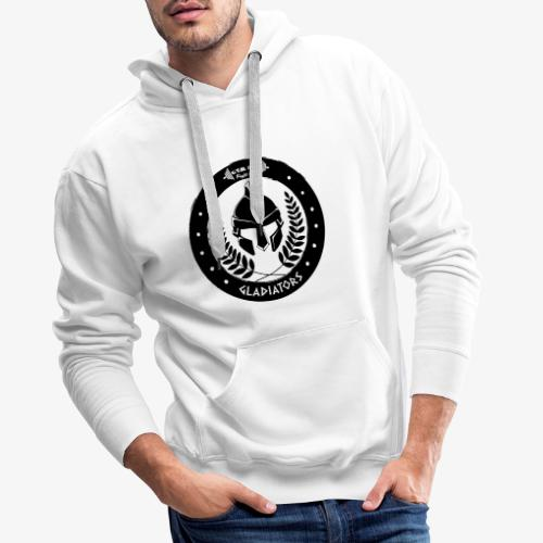 Gym Pur Gladiators Logo - Men's Premium Hoodie