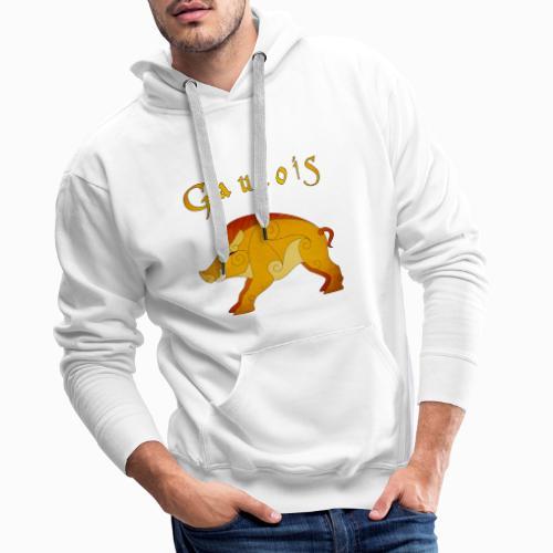 Sanglier Gaulois - Sweat-shirt à capuche Premium pour hommes