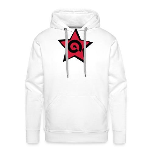 stella con spirale - Felpa con cappuccio premium da uomo