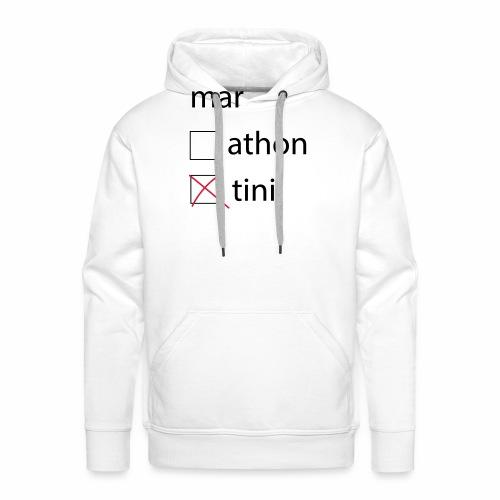 martini - Sweat-shirt à capuche Premium pour hommes