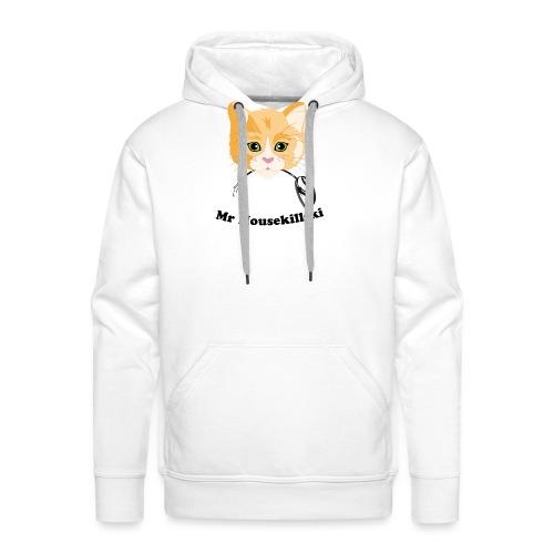 Mr Mousekillski – Katz hat eine Maus gefangen - Männer Premium Hoodie