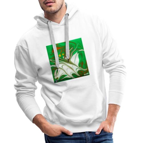 TIAN GREEN Mosaik CG002 - quaKI - Männer Premium Hoodie