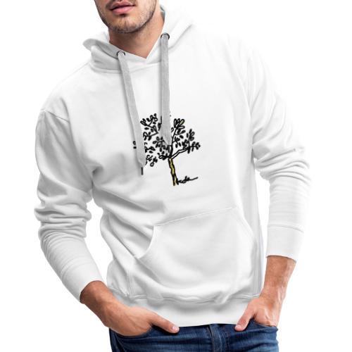 Jeune olivier - Sweat-shirt à capuche Premium pour hommes