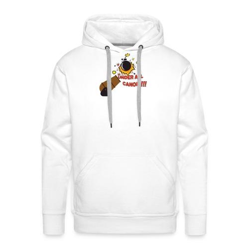 Denglisch-Shirt: under all canon, lustiges Shirt - Männer Premium Hoodie