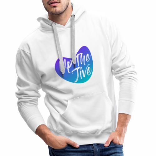 Up The Jive Heart - Men's Premium Hoodie