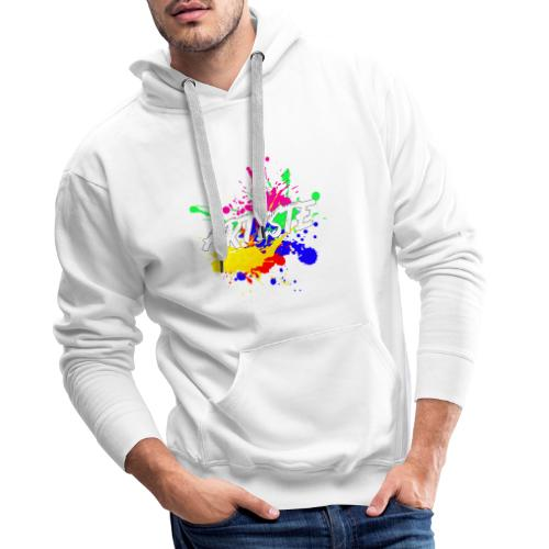 Artiste Français - Sweat-shirt à capuche Premium pour hommes