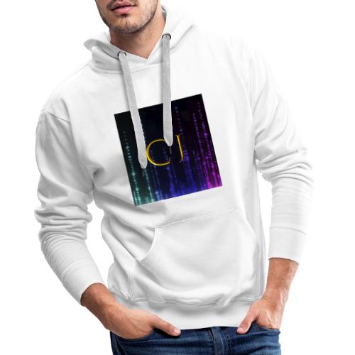 CJ Logo Merchandise - Herre Premium hættetrøje
