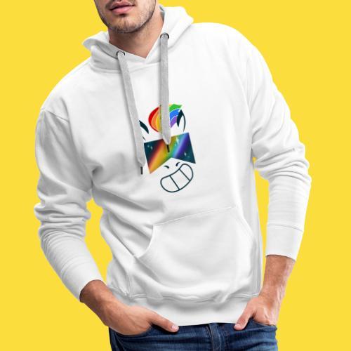Bob la licorne ( spécial marche des fiertés) - Sweat-shirt à capuche Premium pour hommes