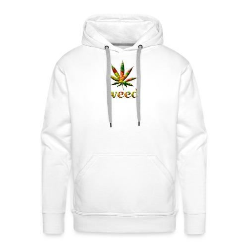 marijuana leaf - Männer Premium Hoodie