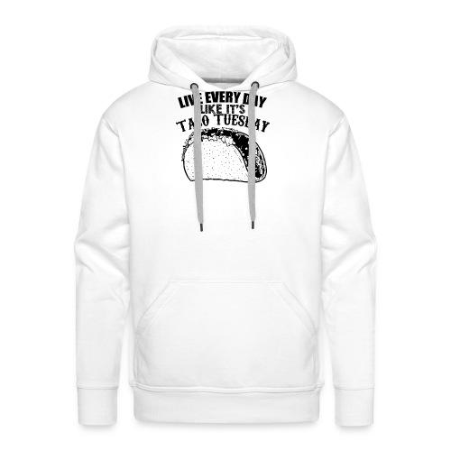 Tacos - Sweat-shirt à capuche Premium pour hommes