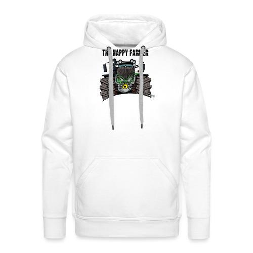 the happy farmer green - Mannen Premium hoodie
