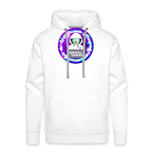binousamalogoV1 2 - Sweat-shirt à capuche Premium pour hommes