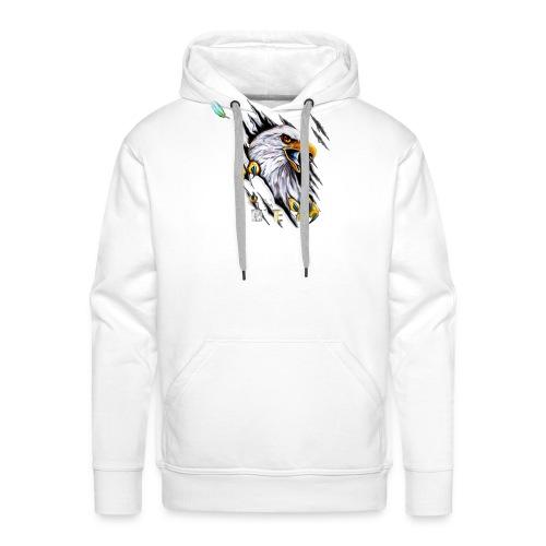 L'aigle de la Team OMEGA - Sweat-shirt à capuche Premium pour hommes