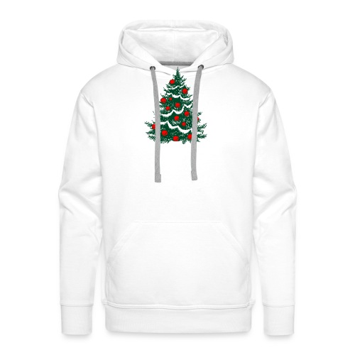 christmas tree - Men's Premium Hoodie