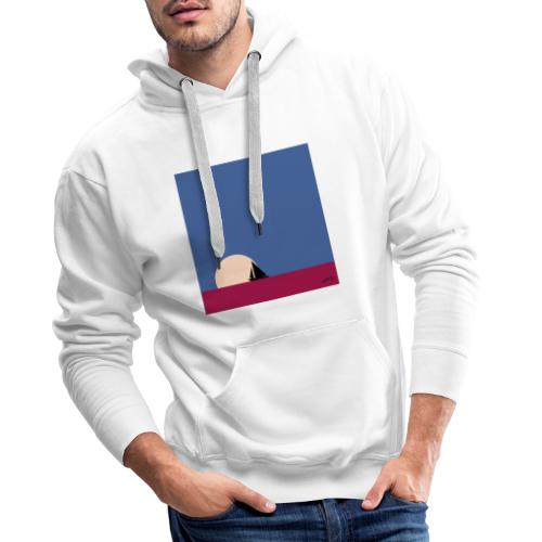 Oh mon bateau ! - Sweat-shirt à capuche Premium pour hommes