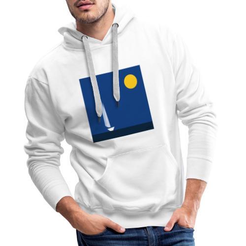 voile - Sweat-shirt à capuche Premium pour hommes