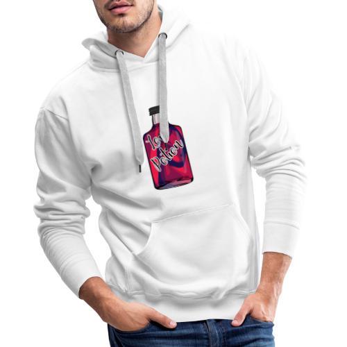 Love potion - Sweat-shirt à capuche Premium pour hommes
