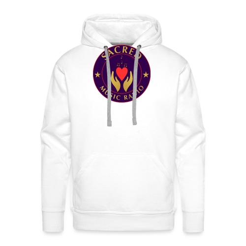 Spread Peace Through Music - Men's Premium Hoodie