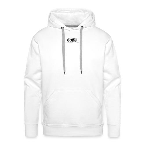 COCA - Sweat-shirt à capuche Premium pour hommes