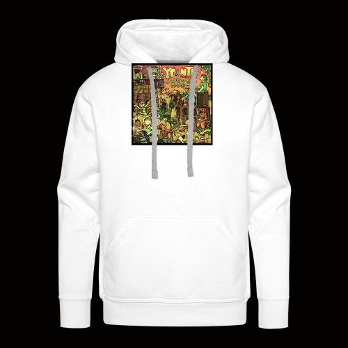 String Up My Sound Artwork - Men's Premium Hoodie