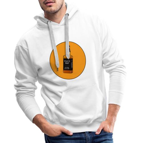 Logo Flash Rap - Sweat-shirt à capuche Premium pour hommes