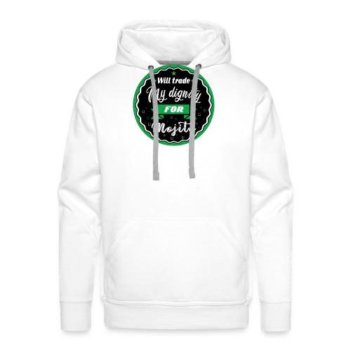 Trade my dignity for mojitos - Men's Premium Hoodie