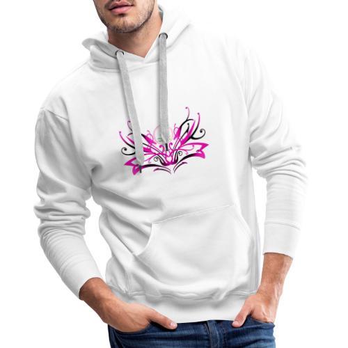 ButterFly MaitriYoga - Sweat-shirt à capuche Premium pour hommes