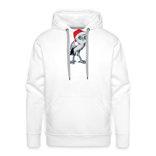 weihnachten Eule - Männer Premium Hoodie