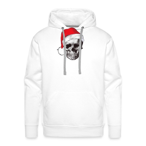 weihnachten-skull Weihnachtsmann - Männer Premium Hoodie