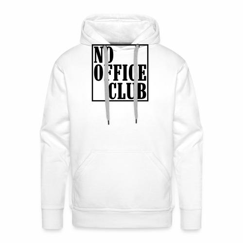 NoOfficeClubedgy - Männer Premium Hoodie