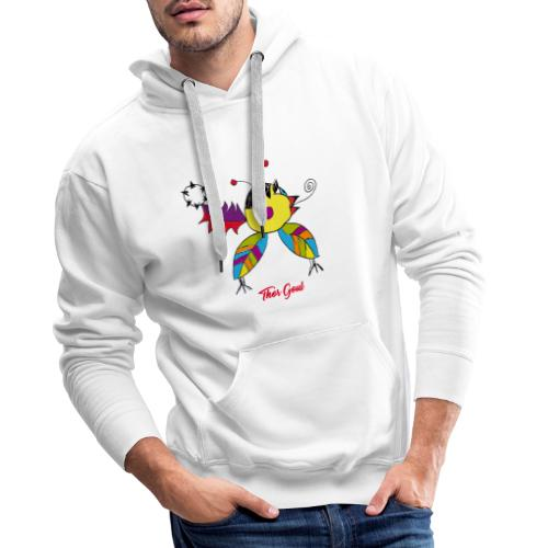 Thor Goul - Sweat-shirt à capuche Premium pour hommes