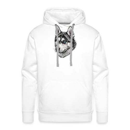 Husky - Sudadera con capucha premium para hombre